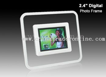 2.4digital photo frame