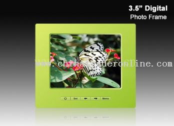3.5 inch TFT LCD screen digital photo frame