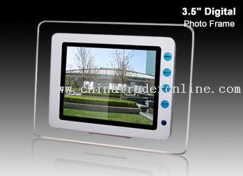 3.5digital photo frame