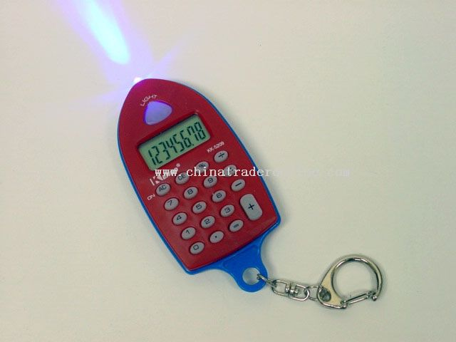 Keychain Calculator with Money Detector