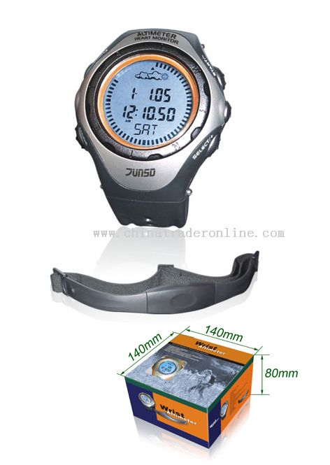 Altimeter wiht Compass & Heart Monitor from China