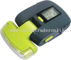 Pedometer with Flashlight