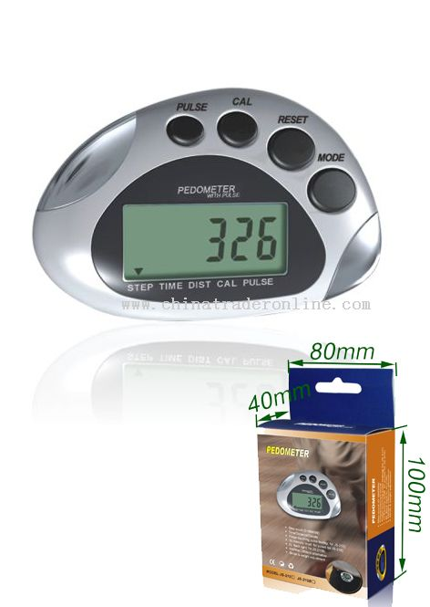 Pedometer with Pulse