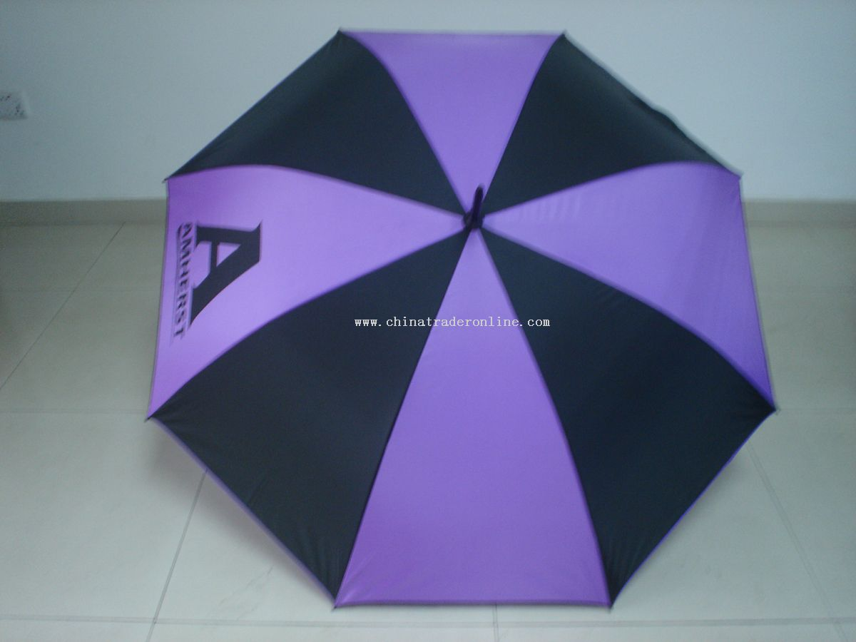Custom Gold Umbrella