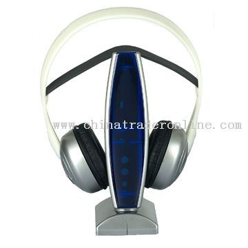Double frequency wireless headphone