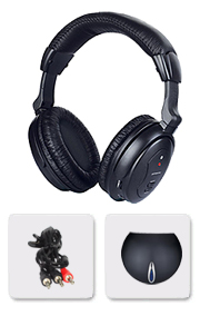 FM wireless STEREO headphones