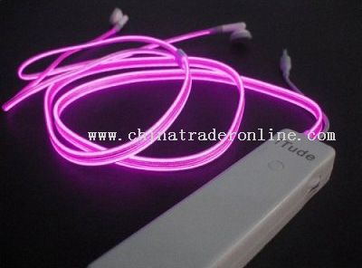 GLOWING EL EARPHONE