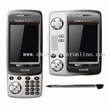 5200+ GPRS Mobile Phone with 2.6-inch TFT QVGA Touch Screen from China