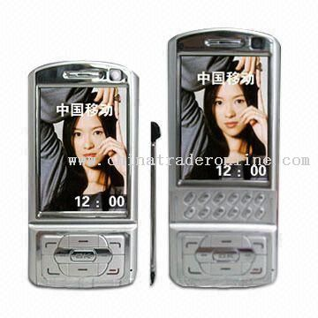 Super Slim GPRS Phone with PDA