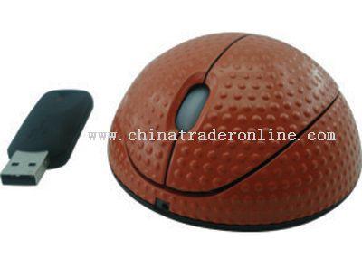 Basketball Shape Mouse