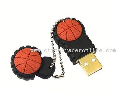 Basketball USB Flash Drive
