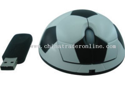 Football Shape Mouse