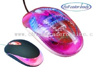Mini Optical Mouse with light