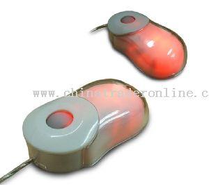 Mini Optical Mouse with light
