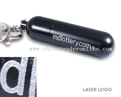 cylindrical design Keychain USB Memory Stick