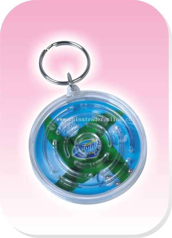 Crystal Maze Key Ring