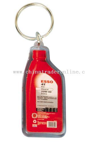 Crystal oil bottle Tag