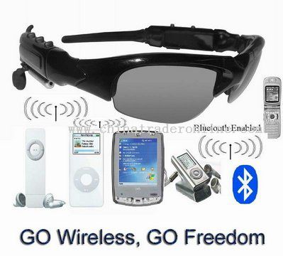 Bluetooth mp3 player sunglass