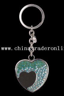 Key Ring Crystallized By Crystela With Swarovski