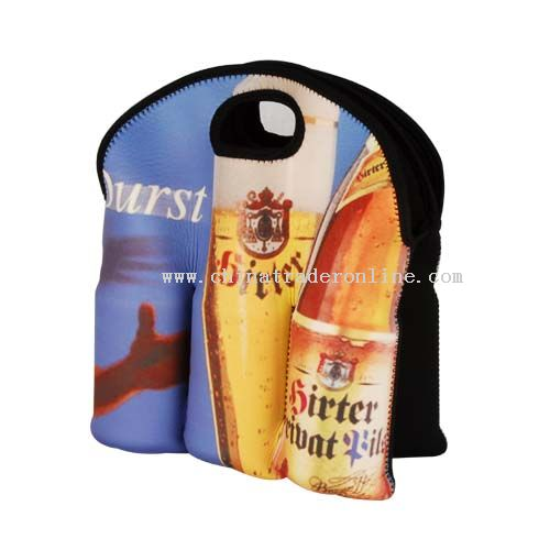 Wine bottle bag for six