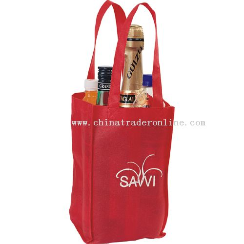 winebottle bag for four bottles