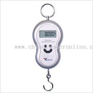 Digital fishing scale