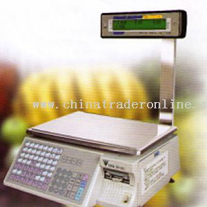 Electronic Pricing Scale with Printer