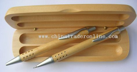 2pcs Wooden Pen