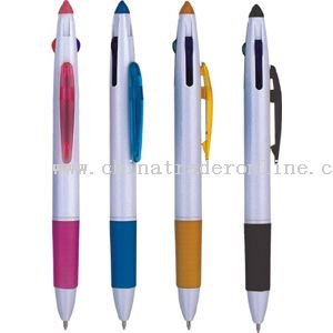 3-colors ballpen from China