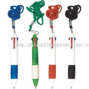 4-colors ballpen