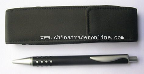 ball pen with pvc pouch