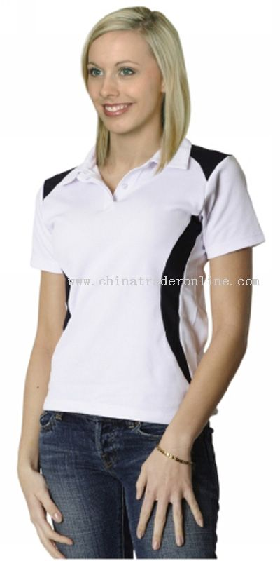 Ladies TrueDry Contrast Polo from China