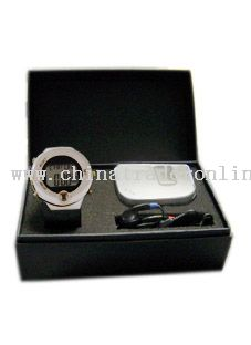 Pulse Watch With Radio Pedometer Gifts Set