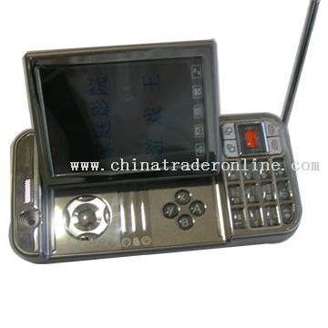 Dual sim card mobile phone with TV