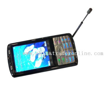 triband dual sim dual bluetooth.support TV Mobile Phone