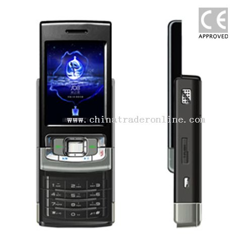 Dual SIM Cards Mobile Phone-Slide Type from China