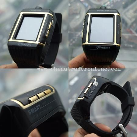Waterproof wristwatch mobile phone