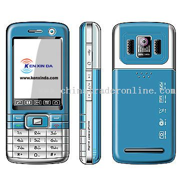 Color mobile phone with FM Radio with bluetooth With mp3 mp4 player with camera