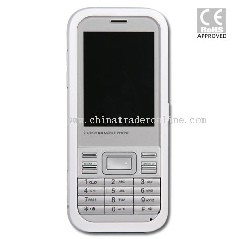 Dual SIM Cards mobile phone with CE&Rohs