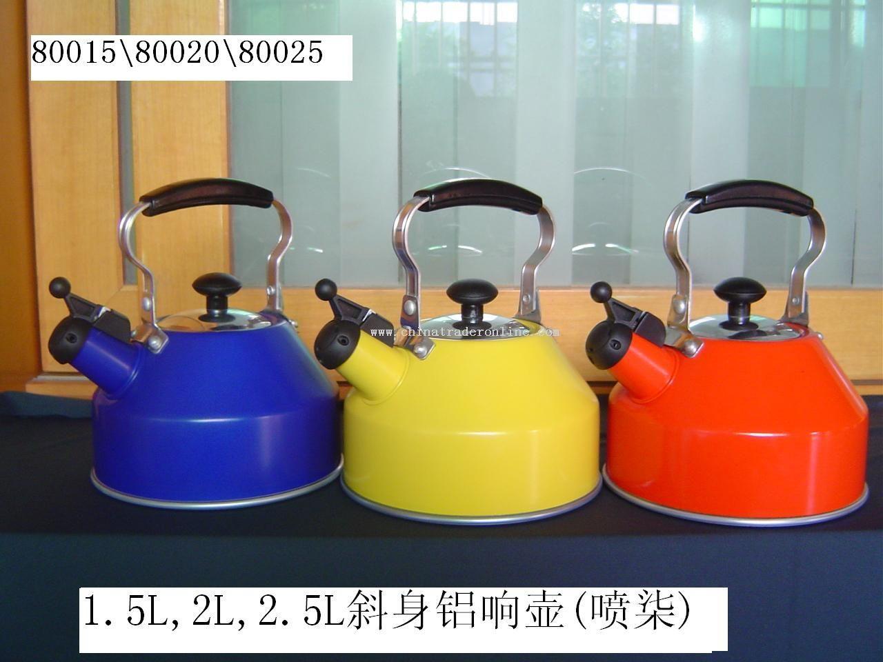 Aluminium kettle