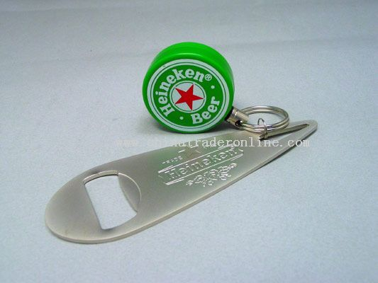 Bottle Opener With Clip