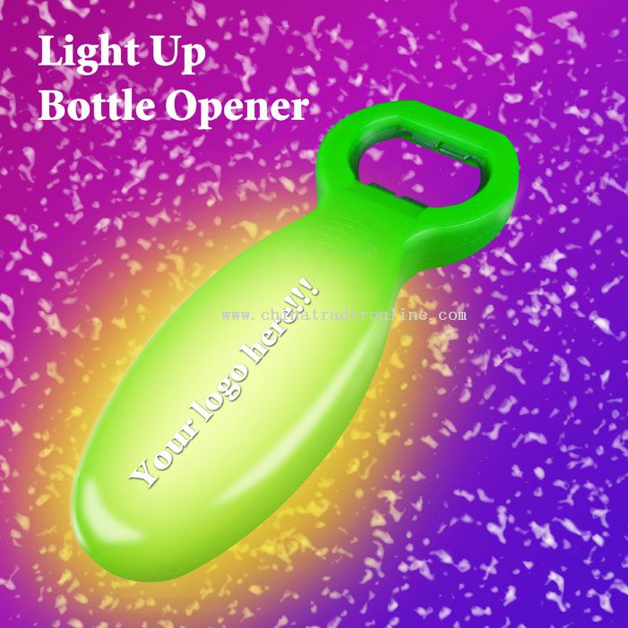 Flashing Bottle Opener