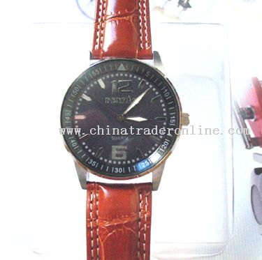 LEATHER WATCH from China