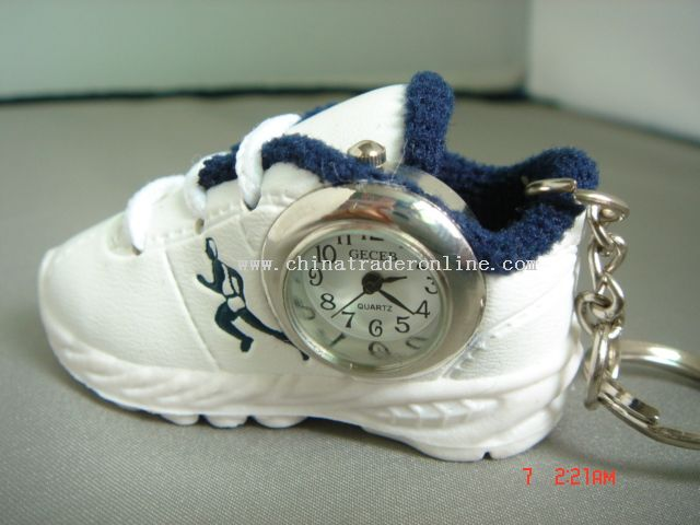 shoe gift keychain watch