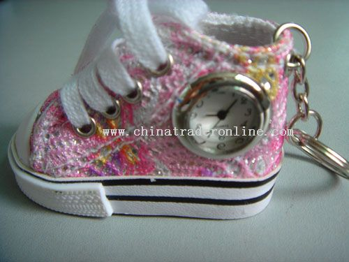 Shoe GIFT WATCH with keychain