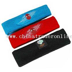 Woven Label Headbands