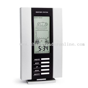 Digital Clock with weather station