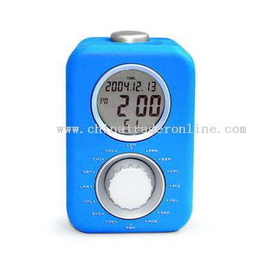 Digital World Time Clock