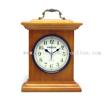 Grandmother wooden clock from China