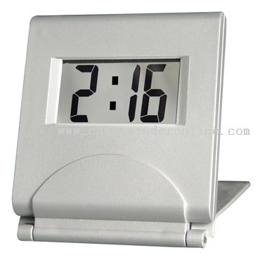 lcd travelling clock